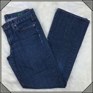 * J. Crew Boot Cut Blue Jeans * Pants Mid Rise